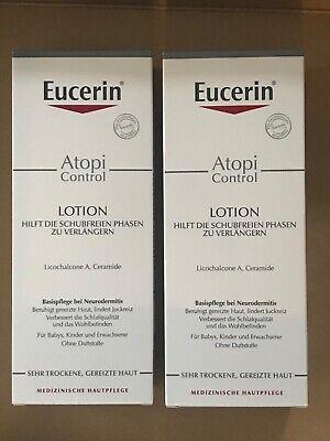 Doppelpack Eucerin Atopi Control Lotion 2x400ml, Originalware