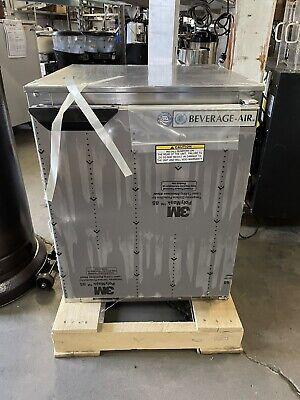 Beverage Air Ucr20hc-23 Under-counter Refrigerator Stainless Steel