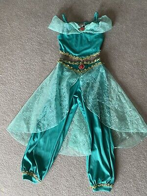 Girls Authentic Disney Jasmine Costume