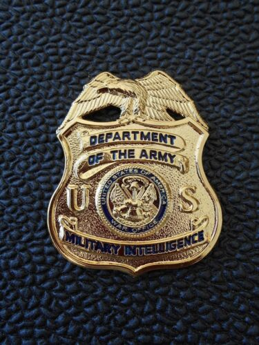 MI  Tie Tac  Military Intelligence  Badge  Tie Tac / Hat Pin Badge