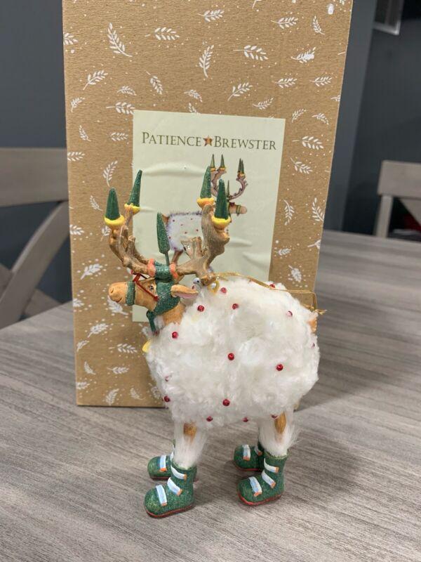 Patience Brewster Dashaway Away Blitzen Krinkles Ornament Christmas