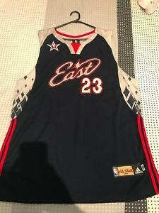 new concept 11efd dbfc7 NWT Adidas Authentic LeBron James 2007 All-Star NBA Jersey ...