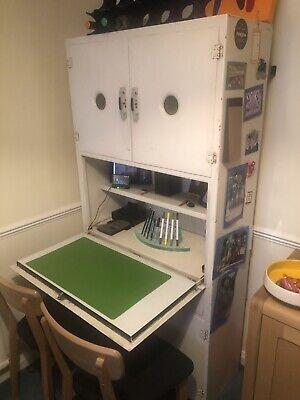 Tall Vintage Metal Kitchen Cabinet, Larder Cupboard, Retro
