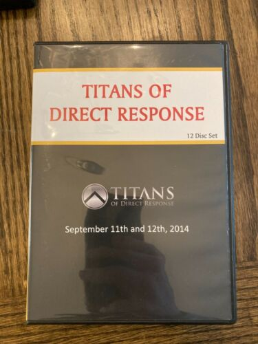 Titans of Direct Response 12 Disc Set