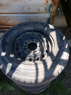 Holden Rodeo 6 stud wheels tyres and rims