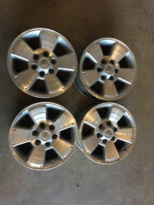 Tacoma alloy wheels