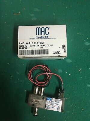 Mac Mini 24 Vdc Valve With Fittings