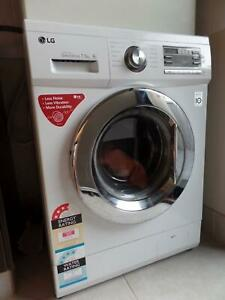 LG Front Loader Washing MACHINE WD14022D6 7.5kg Direct Drive