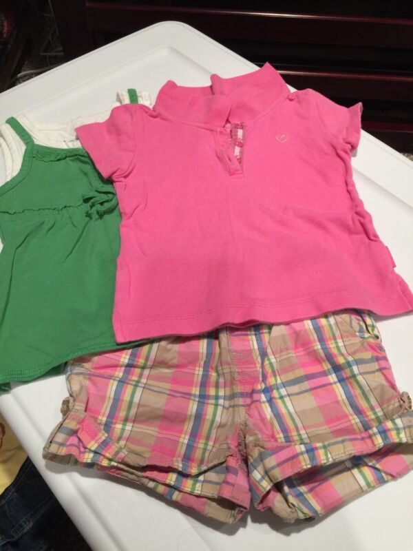 Girls Size 24 Months The Childrens Place Lot Shorts Shirts
