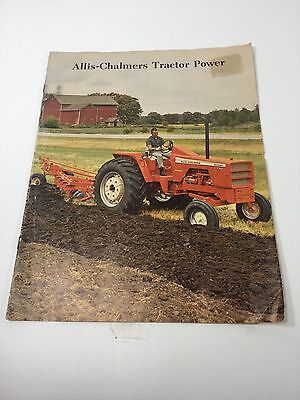 Vintage Allis-Chalmers Tractor Power Brochure, D21, One Ninety & other articles.