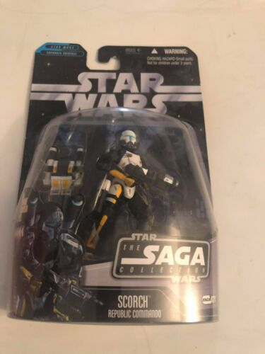 NIB Star Wars The Saga Collection Scorch Republic Commando Hasbro