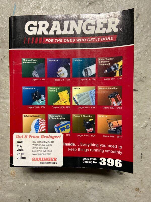 + Grainger Catalog #396 2005-2006 Motor Tools Electrical Etc