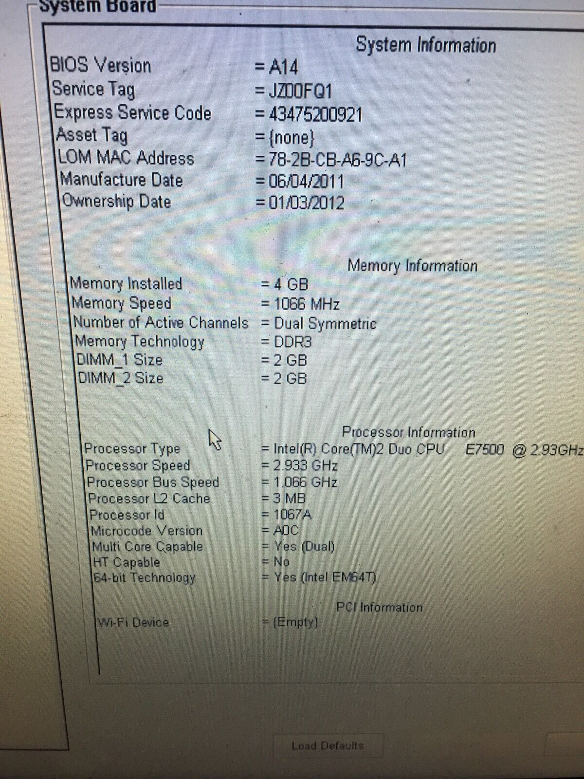 Intel Core 2 Duo 64 Bit Capable Karmashares Llc Leveraging Prosesor C2d E7500 Of 4 Dell Optiplex 780 293ghz 40gb No
