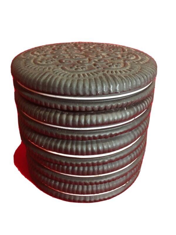 Ceramic Stacked Sandwich ? Oreo? Cookie Jar