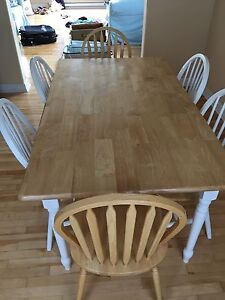 Dining room set and 6 chairs - Best Offer
