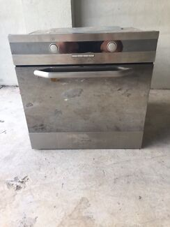 Electric wall oven.