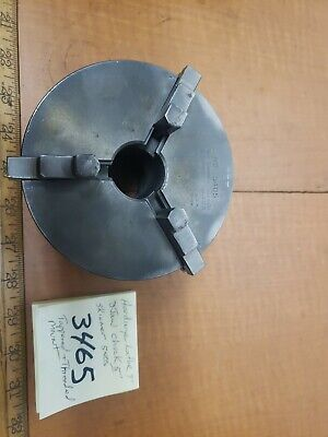 Hardinge Lathe 9 5 3jaw Chuck Skinner 5405 Threaded Mount 2.08510tpi 2.105id
