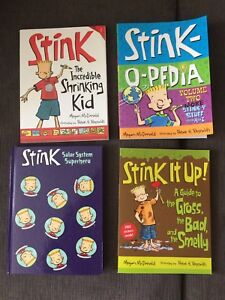 Stink children's books