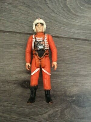 Vintage Star Wars Luke Skywalker  X Wing Pilot figure.