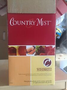 Country Mist Complete Wine Kit