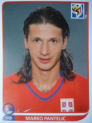 Serbien Wm (Panini 311 Marko Pantelic Serbien FIFA WM 2010 Südafrika)