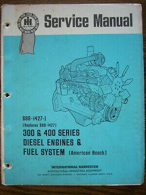 Ih Farmall International 966 1066 1466 D414 Dt414 Dt436 Engine Service Manual