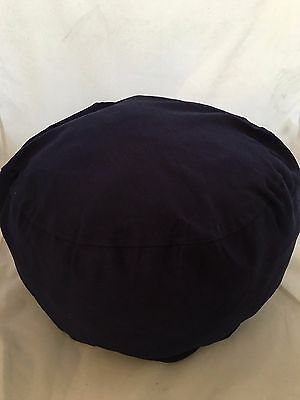 Small Pouf Pillow Bean Bag Cover Navy blue pouff photography prop posing photo - Navy Bean Bag