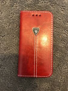 Leather phone case for iPhone 7 and 8