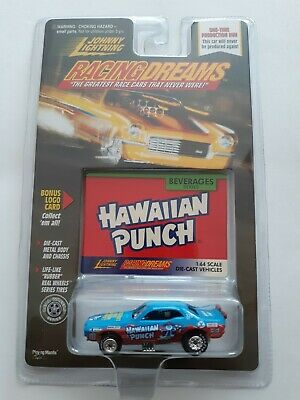 Johnny Lightning Racing Dreams Beverages Series Hawaiian Punch 1998 New