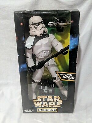 """12"""" Inch Sandtrooper Action Collection 1997 Star Wars 1/6 MISB Sealed NEW"""