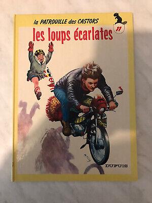 BD La Patrouille Des Castors Les Loups Écarlates Mitacq Dupuis 1986 Cartonner