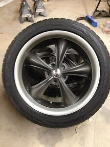 Boss rims/tires w/only 1000kms