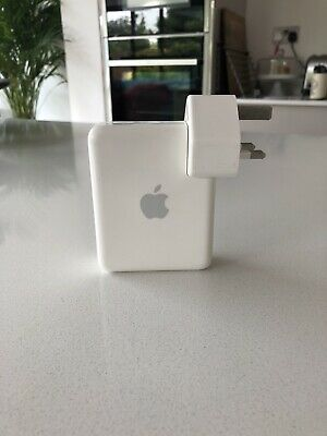 Apple Airport Express With 3 Pin UK A1264 AirPlay Wi-fi Extender Router