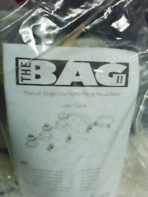 The Bag Ii Self Inflating Disposable Resuscitatoradult 4 Mask