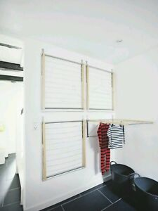 IKEA wall mount clothes drying rack