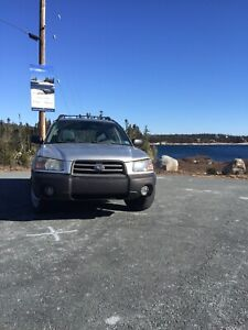 2005 Subaru Forester 5 speed