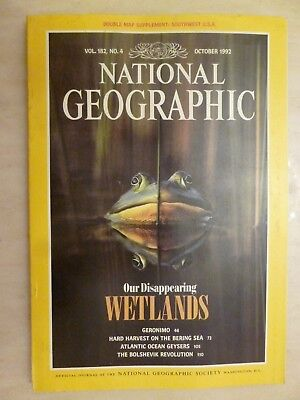 National Geographic- OUR DISAPPEARING WETLANDS - October 1992