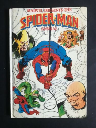 SPIDERMAN MARVEL ANNUAL FROM 1981