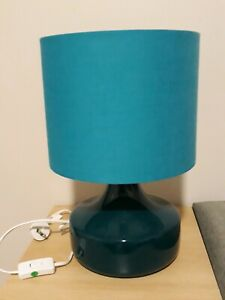 FREEDOM FURNITURE TURQUOISE TABLE LAMP
