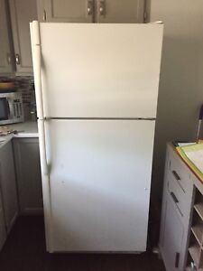 Used gas stove and fridge