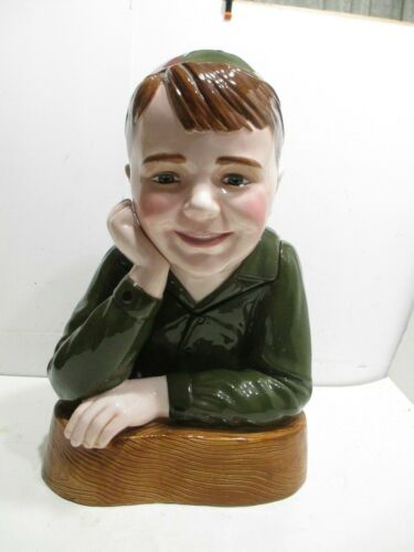 Little Rascals Spanky  Cookie Jar Mint in Box Made By Star