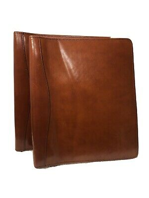 Scully Leather Binder And Notepad