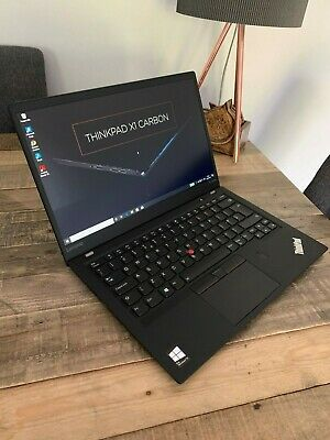 Lenovo X1 Carbon 5th Gen i7 7th Gen 8GB 256GB SSD 1920x1080 4G LTE WIN 10