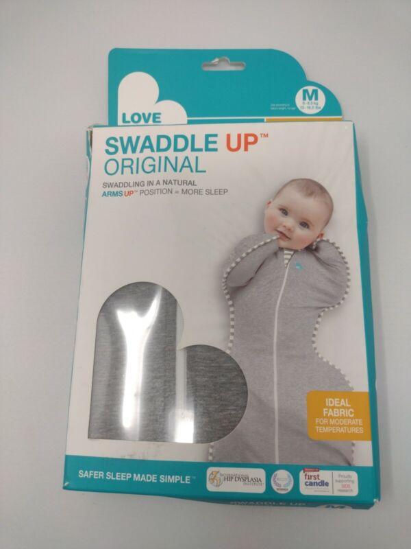 Love to Dream Swaddle Up Original Gray Medium Original New safer sleep better