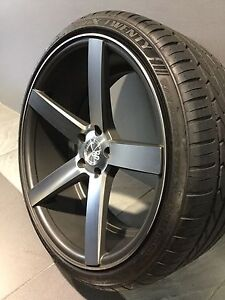 """AVANTGARDE ILLEST 20"""" STAGGERED ALLOY WHEELS AND TYRES Carramar Fairfield Area Preview"""