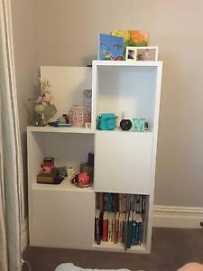 Lilly and Lolly colour box bookcase - white Canterbury Boroondara Area Preview