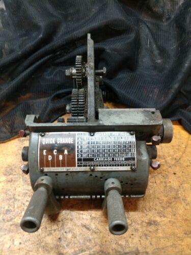 """Atlas Craftsman 12"""" Commercial Lathe Quick Change 990-290"""