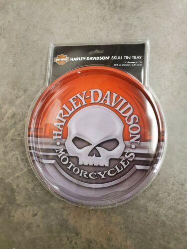 HARLEY-DAVIDSON® SKULL TIN TRAY