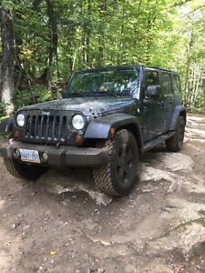 2010 4 door Jeep Wrangler unlimited