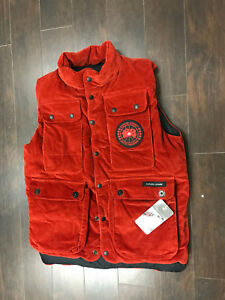 CANADA GOOSE  MEN,S New Corduroy Vest limited edition